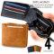 Milagro(ミラグロ) イタリアンヌバックシリーズ23ポケット 二つ折り財布