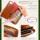 Milagro ミラグロ イタリア製ヌメ革 テラローザシリーズ・パスポートの入る財布(エグゼクティブトラベラー)  ca-s-2262