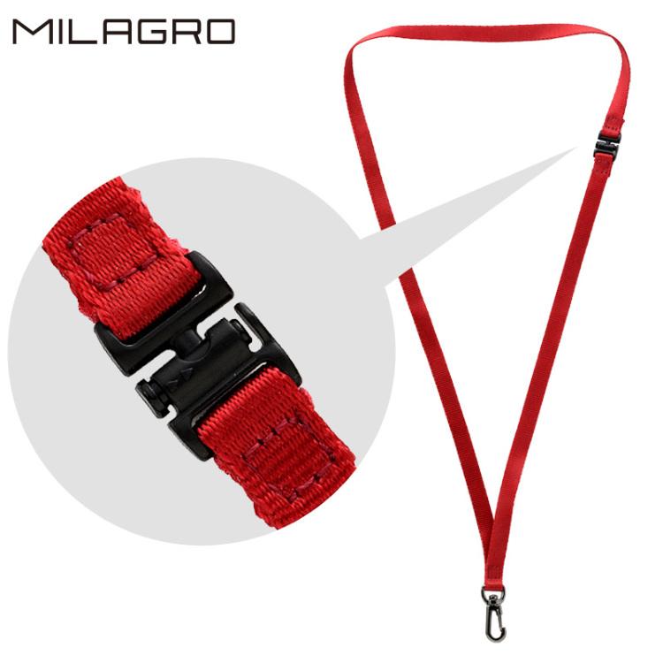 Milagro(ミラグロ)  安全パーツ付きネックストラップ