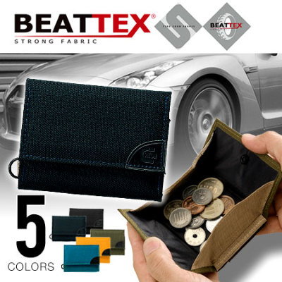 WEEKEND(ER) BEATTEX × coruri 3つ折りウォレット