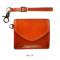 オレンジ:atelier hiro アトリエヒロ YANKEEカジュアル イタリアンレザー・マルチコインケース