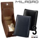 Milagro(ミラグロ) 本革(羊革) スマートコインケース