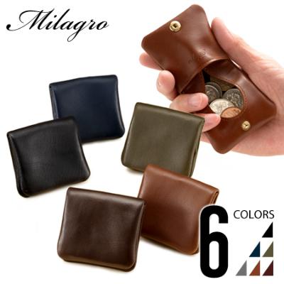 Milagro(ミラグロ) アニリンカーフ コインケース
