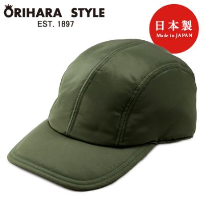 キャップ 野球帽 帽子 MA-1 ORIHARA Lolo 日本製