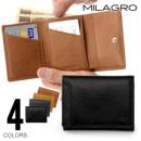 Milagro オイルプルアップレザー3つ折り財布